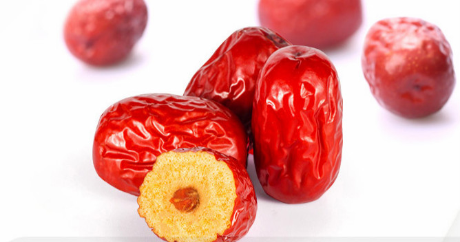 organic fried jujube