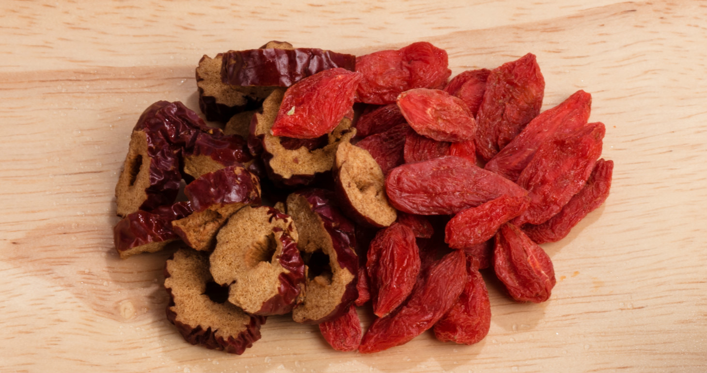 red date and goji berry tea benefits