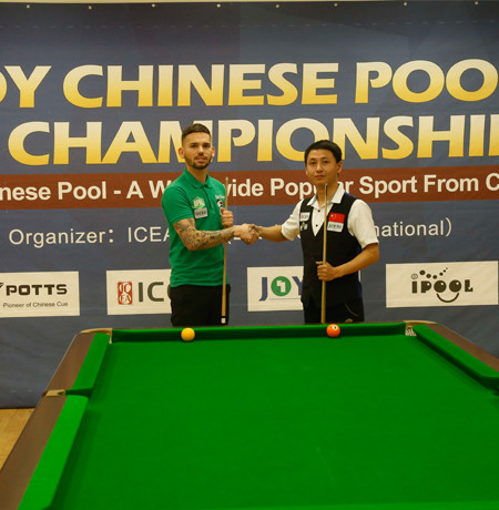 CONGRATULAZIONI a Clint I'anson per JOY Chinese Pool UK Championship!
