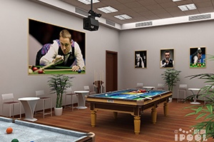 Pool Table proiettore