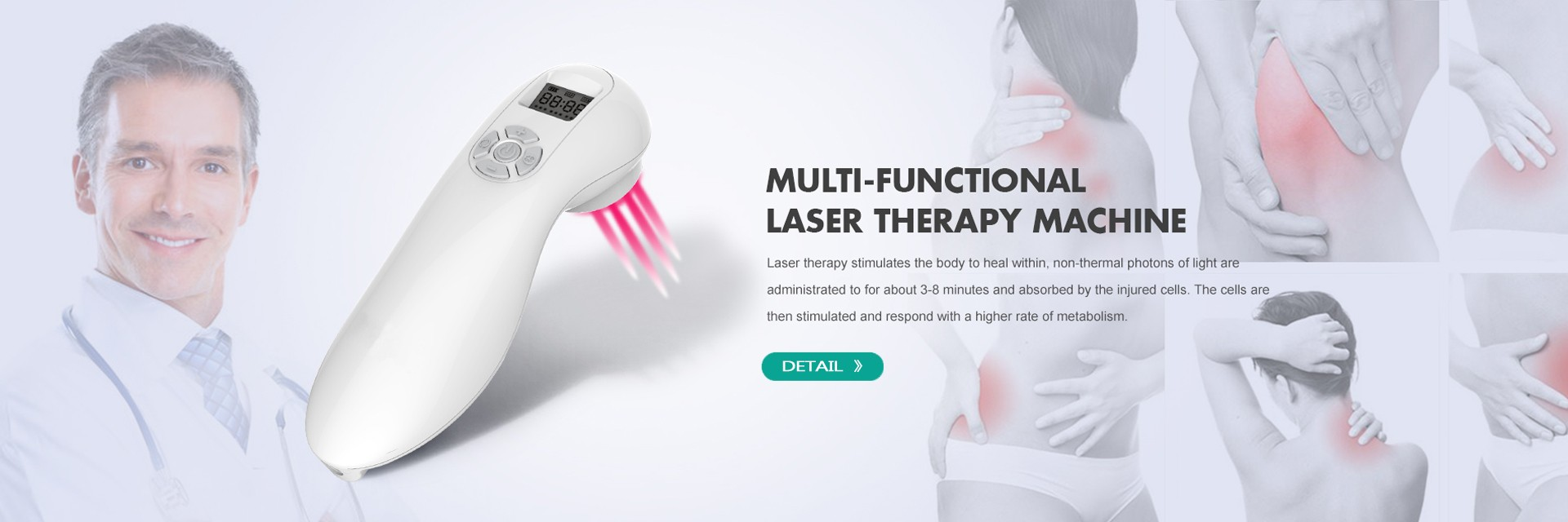 Laser Acupuncture Therapy Pain Relief Back Pain Machine
