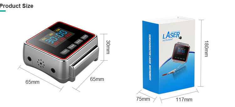 wrist 650nm bio laser therapy machine