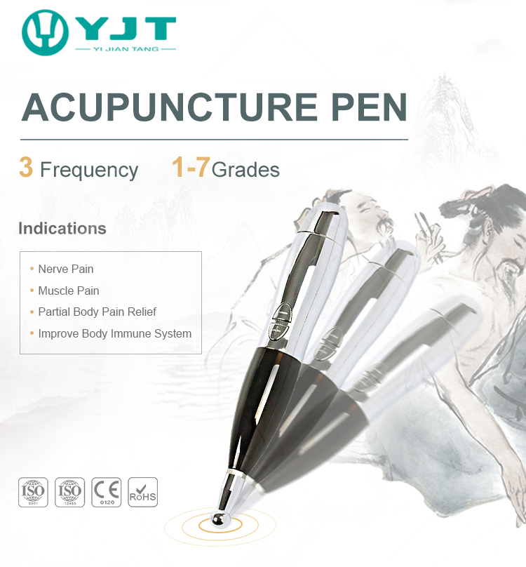 massage acupuncture meridian pen pain relief
