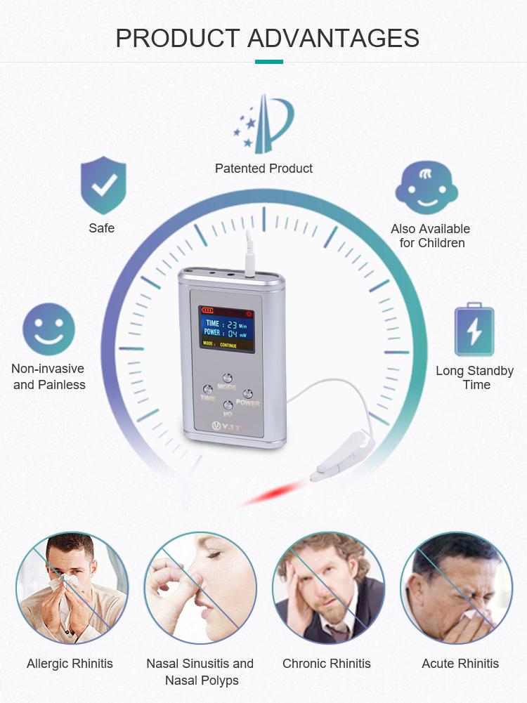 China nasal laser treatment instrument supplier