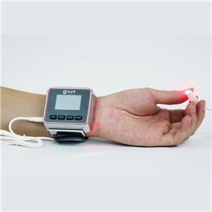 레이저 손목 혈압 비염 레이저 치료 시계