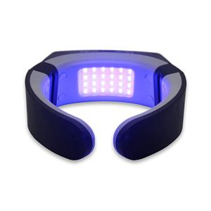 YJT الرقبة الشريان السباتي الأحمر والأزرق ضوء آلة العلاج الطبيعي مدلك