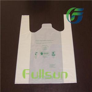 Индивидуальные биоразлагаемые пластиковые пакеты для покупок