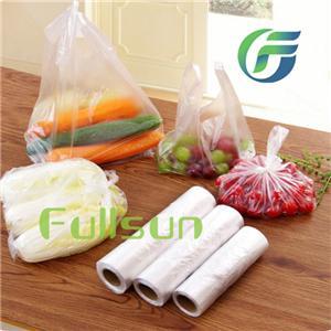 Биоразлагаемые пластиковые прозрачные пакеты для пищевых продуктов