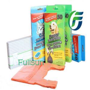 Биоразлагаемые мешки для домашних животных