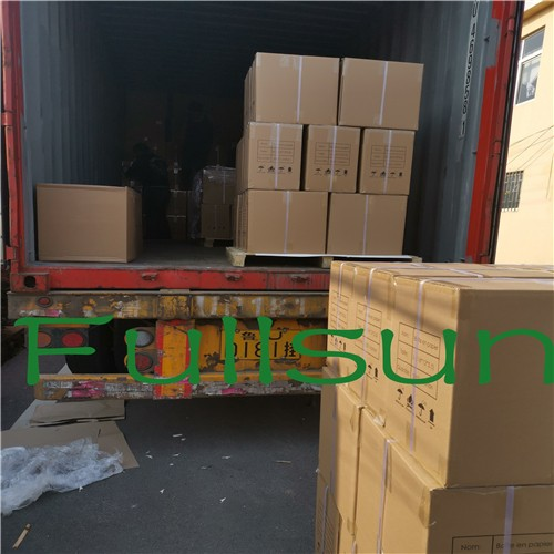 South American customer customized loading and transportation