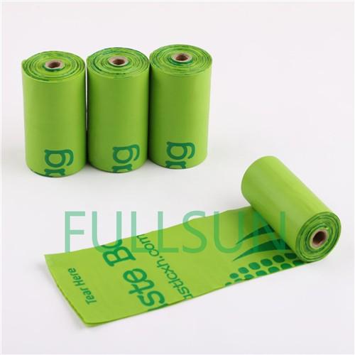 Bolsas de basura de plástico biodegradable