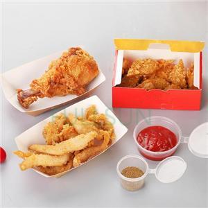 Emballage papier boîte alimentaire boîte burger boîte cadeau
