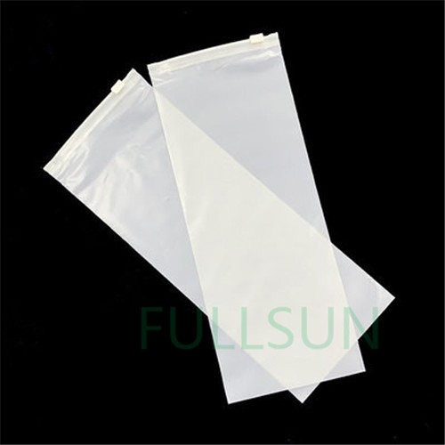 Bolsas de cremallera de ropa de plástico biodegradable