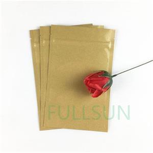 Биоразлагаемые пакеты из крафт-бумаги из пленки