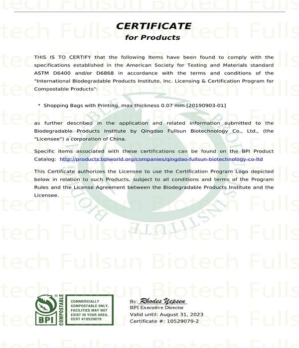 BPI-Zertifizierung
