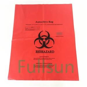 Изготовленные на заказ биоразлагаемые медицинские отходы кладут в мешки для мусора больницы компостабле