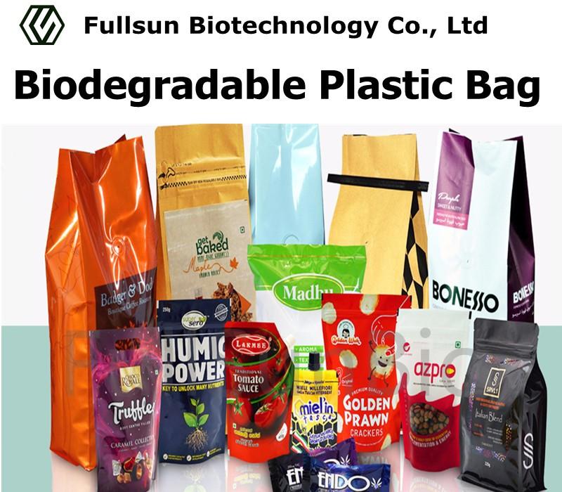 Bolsa de plástico biodegradable para envasado de alimentos Bolsa de pie Bolsa de papel Productos Café Té Dulces Snack para mascotas Bolsa de vacío sellada