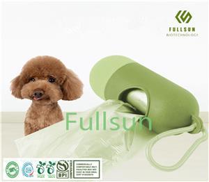 Биоразлагаемый компостируемый мешок для кормы Пластиковый ароматизированный мешок для мусора для домашних животных Сумка для домашних животных для собак