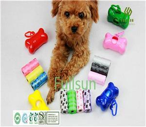 100% биоразлагаемый мешок для домашних животных Компостируемый мешок для кормы Пластиковый мешок для мусора для домашних животных