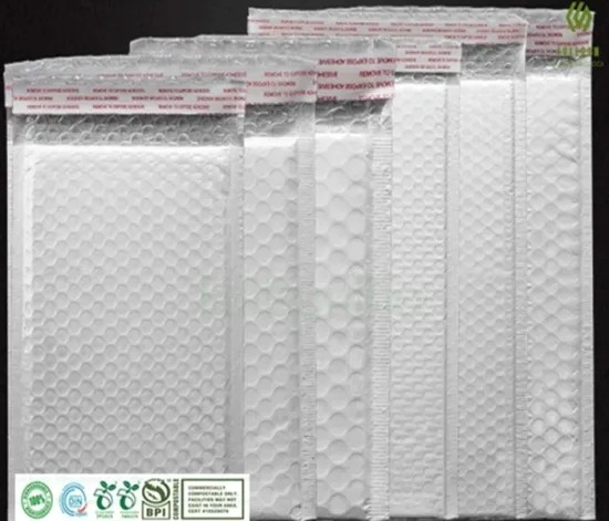 Biodegradable Plastic Packaging Bubble Padded Self-Seal Postal Mail Express Courier Shipping Mailing Bags