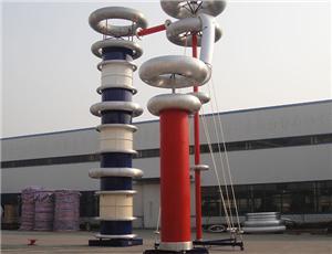 씨줄 3600kVA 1200kV 힘 회수 공명 테스트 체계