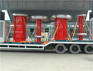Hyundai 6300kVA 700kV Variable Frequency Resonant Test System