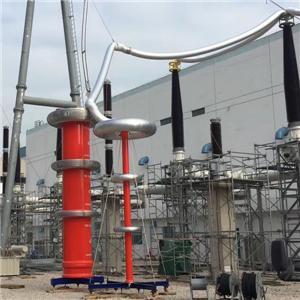 Резонансная испытательная система переменного тока для цилиндров