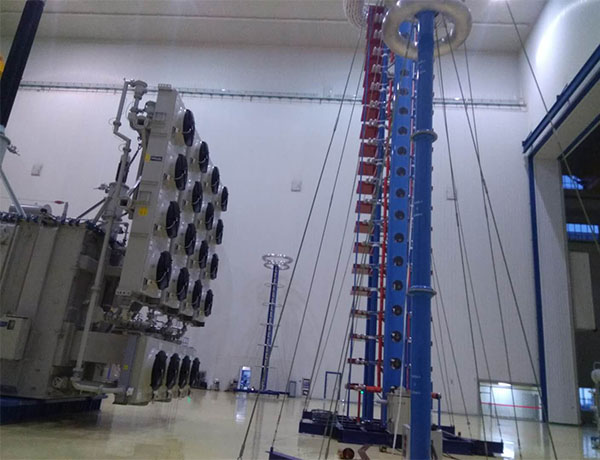 Pinggao 6000kV Impulse Voltage Test System
