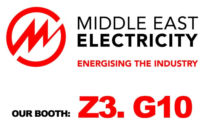 We will exhibit in 44th Middle East Electricity 2019