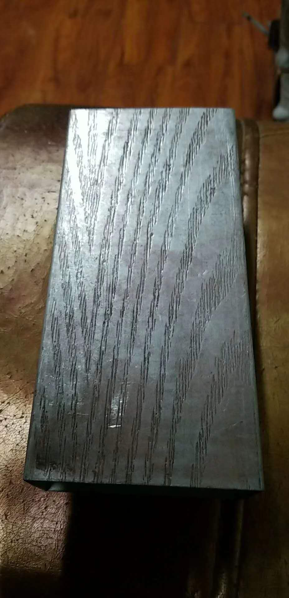 Pattern steel pipe