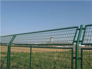 Framed Wire Mesh Fencing