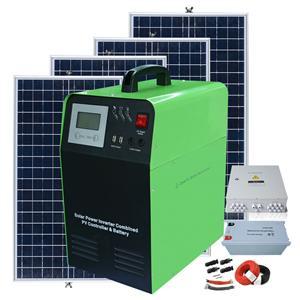Sistema di pannelli solari off grid system 1000w