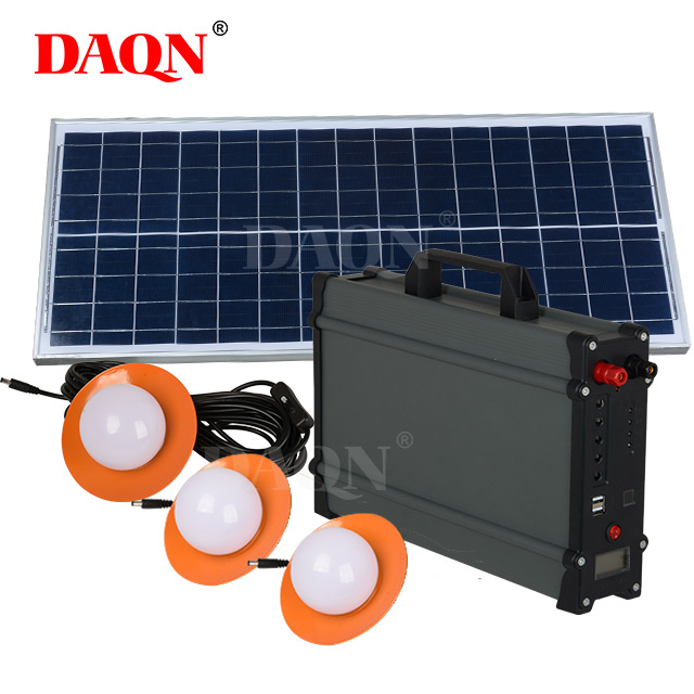 30W Off Grid Mini Home Inverter Sistema Solar
