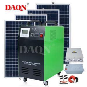 Bán nóng Hệ thống năng lượng mặt trời 12,3 Pin và bộ điều khiển
