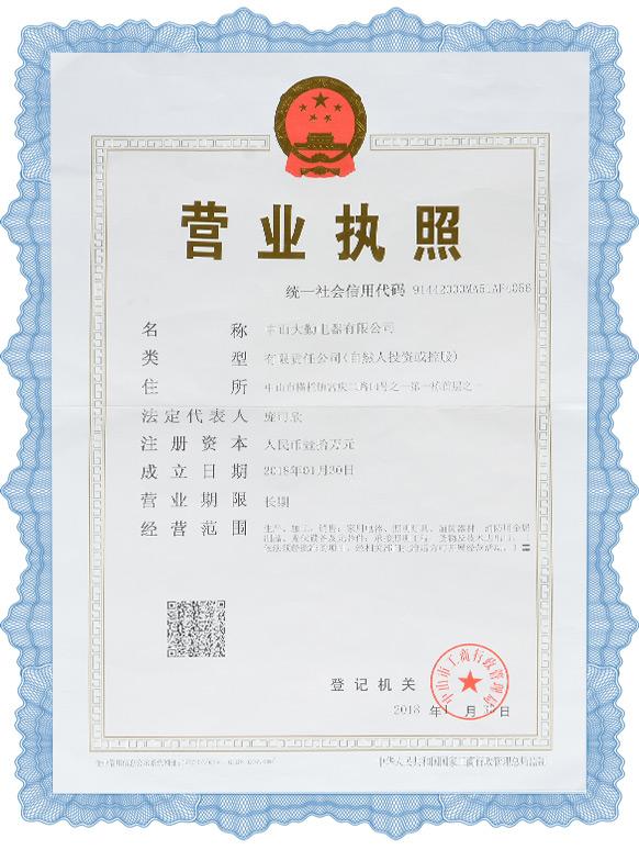 Authoritative Certification, Business License, Export Certification