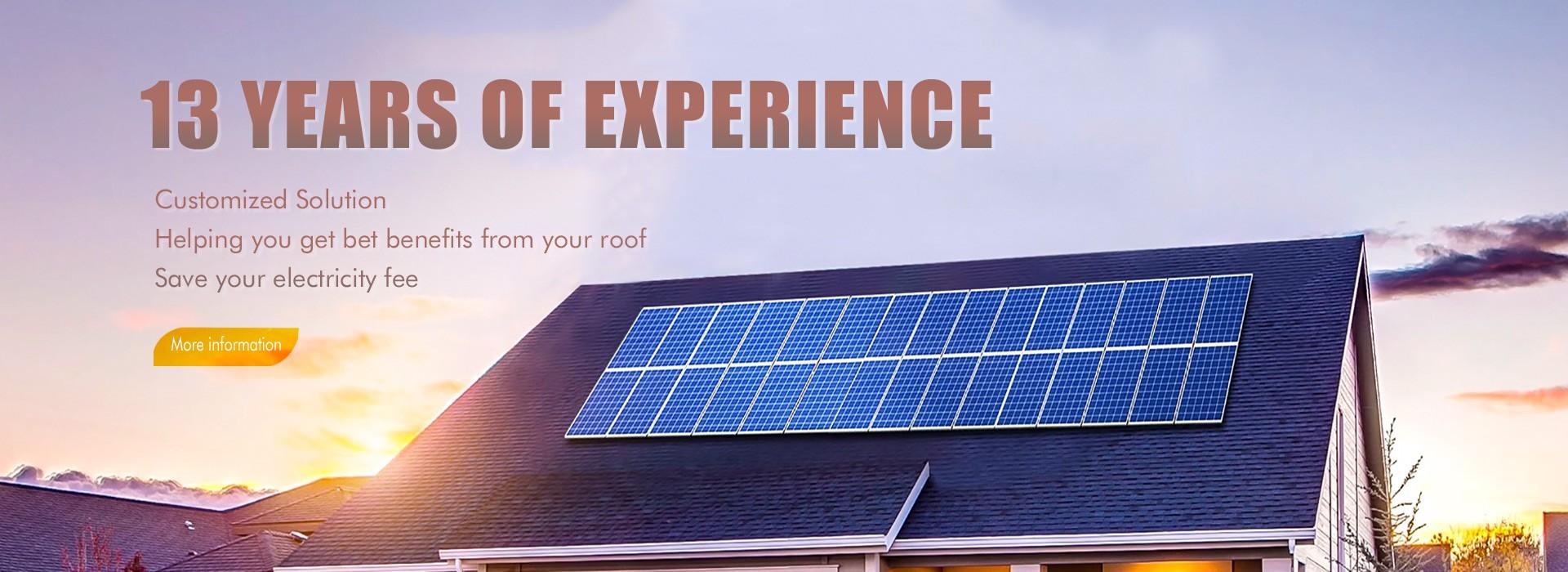 Sistema de iluminación solar LED