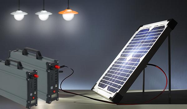 Sistema de casa solar