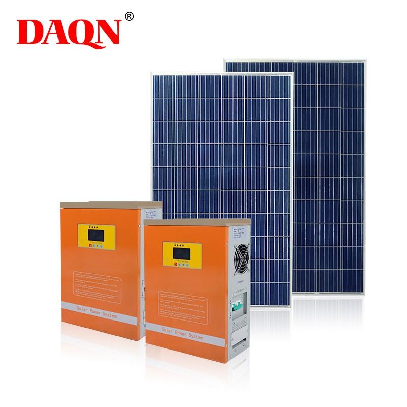 Controlador de Sistema Solar de alta calidad 6000w 48v