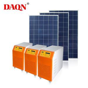 Solar Hybrid Power Inverter con PWM Solar Controller