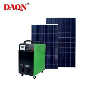 Sistema di energia solare 1000w tutto in uno con caricabatterie CA.