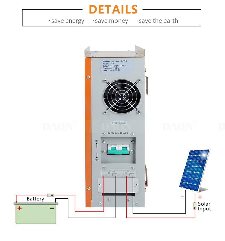 All in one Solar inverter hybrid