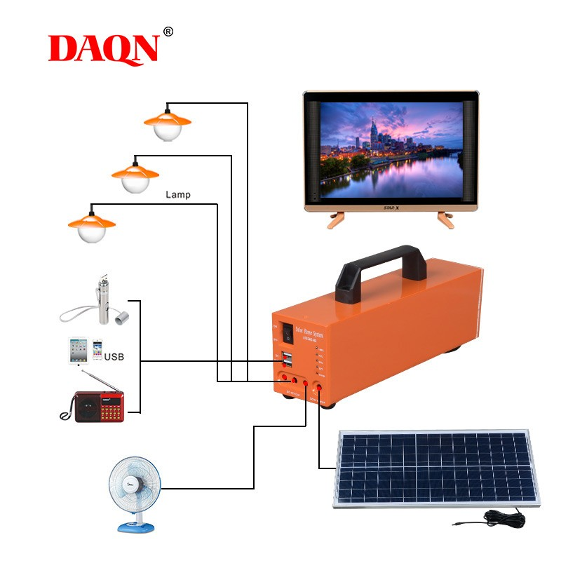 New Product Solar Energy Powered 50w Solar System