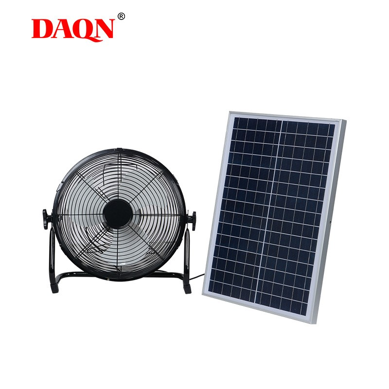 Portable mini solar Fans