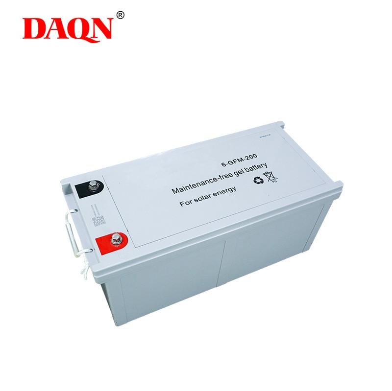 solar gel battery for home solar system