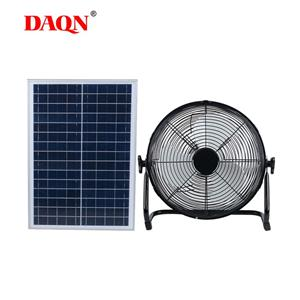 Solar Mini Fan Solar Panel Aluminum Blade Fan