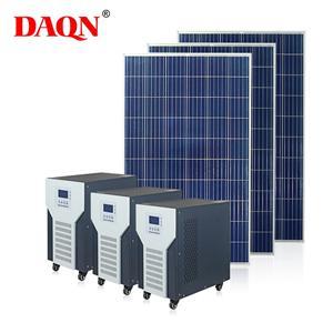 Kit d'énergie solaire complet pour système solaire hors réseau