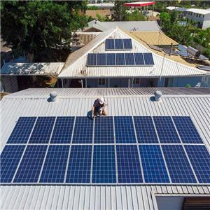 50kw Scheme Of Household Off-grid Solar Power System