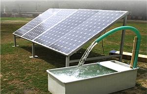 Solar Pumping System for irrigation