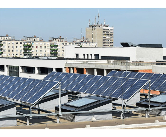 A solar photovoltaic system can also be installed on the roof? ?