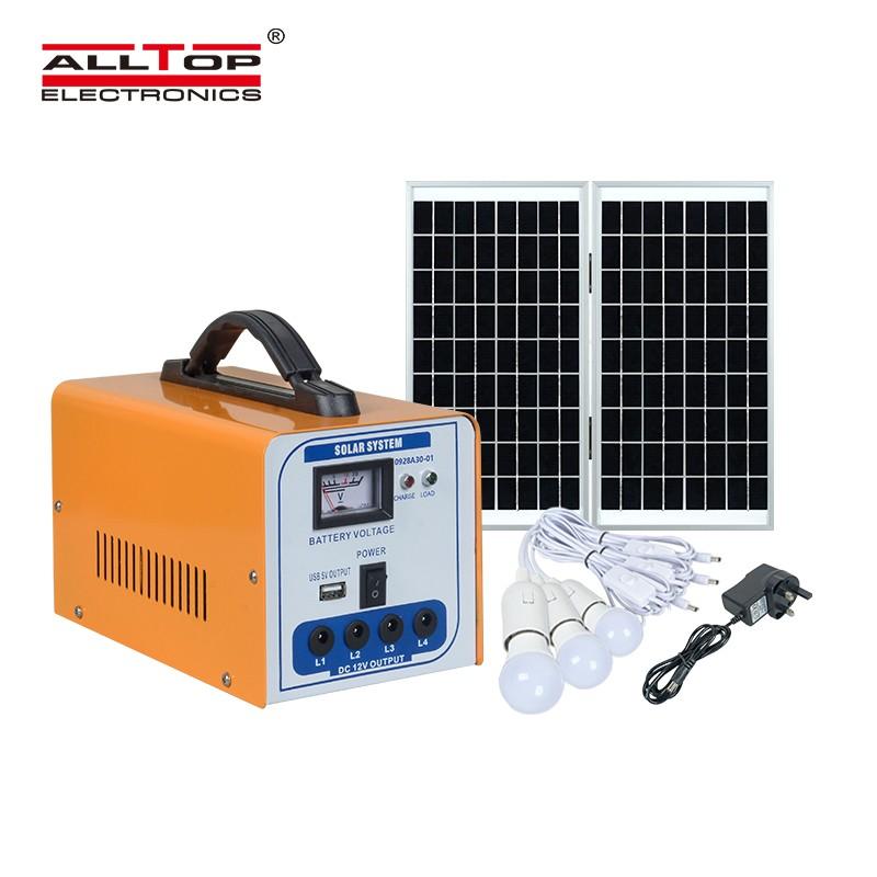 solar power system home off grid solar lighting system home